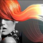Красить волосы в рыжий цвет с рыжим мелированием