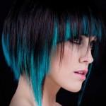 Техники двухтональной окраски волос