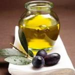 Оливковое масло на салфетке
