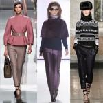 Модные брюки осенью 2013