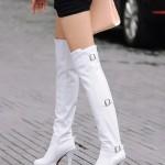 Стильные идеи для настоящих модниц: с чем носить высокие сапожки