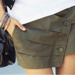 Юбка-шорты, модный тренд 2015 года