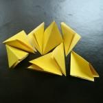 Подготовьте одинаковые модульные треугольники